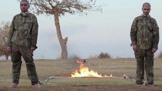 Askerlerin yakılması için fetva veren 'IŞİD kadısı' gözaltına alındı