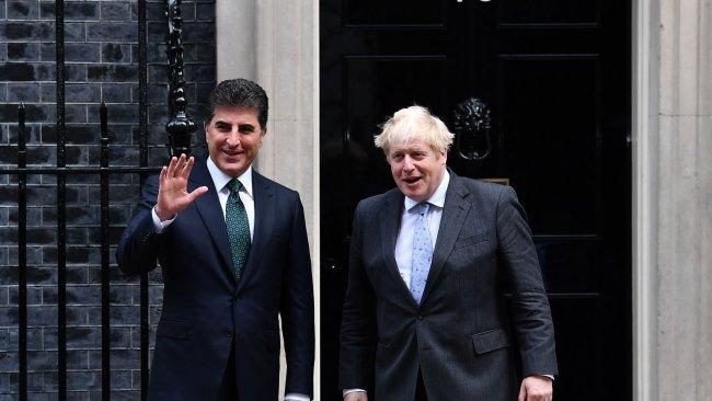 İngiltere'den Barzani-Johnson görüşmesine ilişkin Kürtçe açıklama