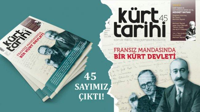 Kürt Tarihi Dergisi 45. Sayı | Kürt Tarihi ve Kültürünün İzinde 50 yıl: Mehmet Bayrak