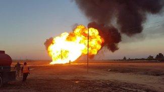 IŞİD, Suriye'de doğalgaz boru hattına yönelik saldırıyı üstlendi