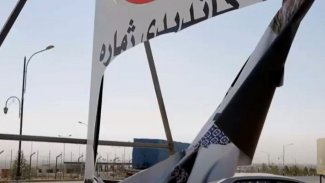 Kerkük'te Kürt adayların posterleri yırtılıyor