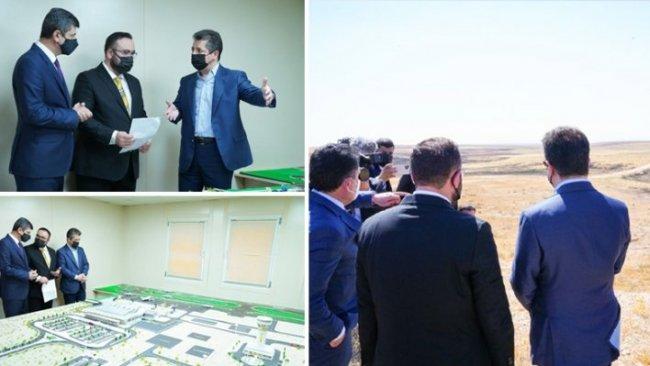 Duhok'ta Uluslararası Havalimanı projesine başlanacak