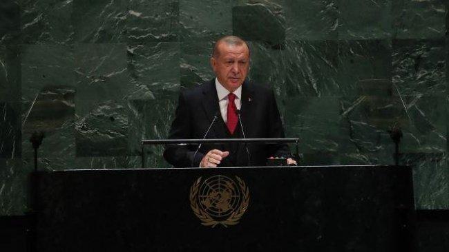 Erdoğan BM'de konuştu: Ne imkanımız ne tahammülümüz kaldı