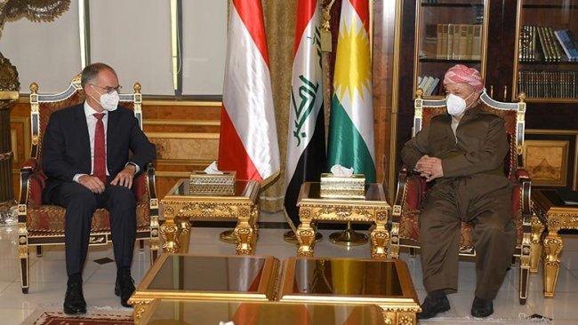 Başkan Barzani ile Avusturya Büyükelçisi Şengal'in durumunu görüştü