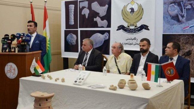 Kürdistan Bölgesi'nde milattan önce 4 bin 300 yılına ait kil eserler bulundu