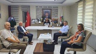 PAK Heyeti'nden Dersim Belediyesi ve Sivil Toplum Kuruluşları'na Ziyaret