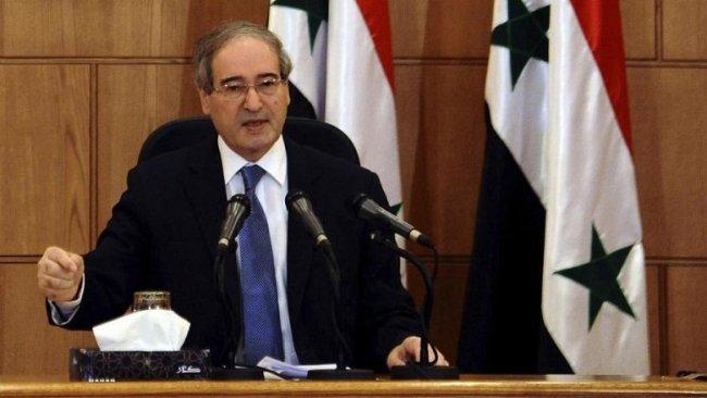 Suriye Dışişleri Bakanı: Türkiye, Suriye'deki işgali sona erdirerek güçlerini geri çekmeli