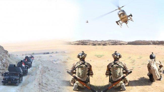 Hemrin Dağları'nda IŞİD'e hava destekli operasyon