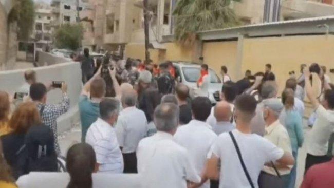Rojava'da gösteriler başladı