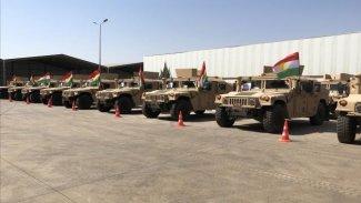 Uluslararası Koalisyon'dan Peşmerge'ye askeri yardım