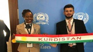 Kürt öğrenciye BM'den ödül