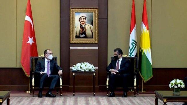 Başbakan Barzani, Türkiye Ticaret Bakanı ile bir araya geldi