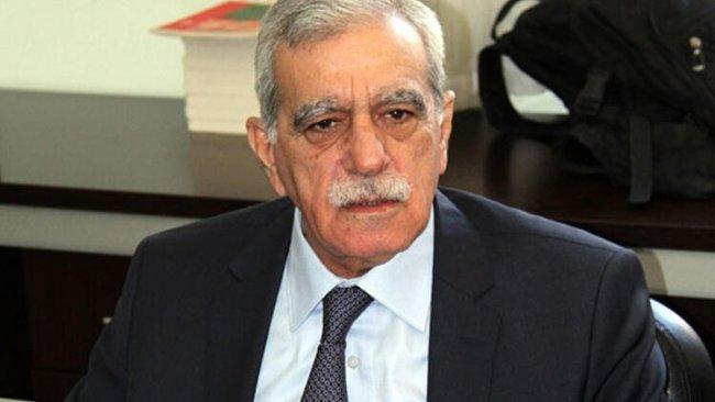Ahmet Türk: Tek kişi ve partiyi muhatap göstermek doğru değil