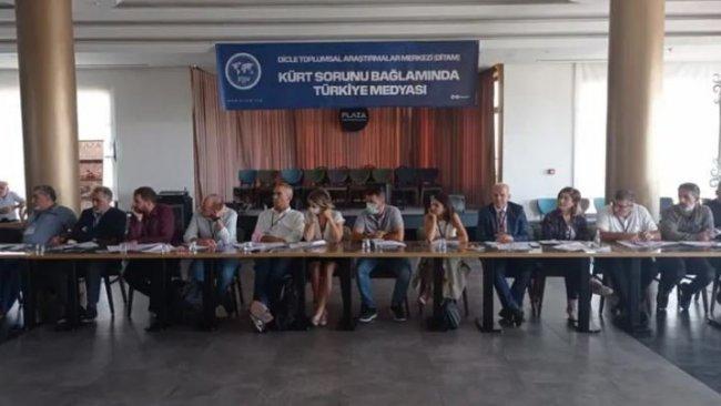 Diyarbakır'da Türk medyası ve Kürt sorunu tartışılıyor