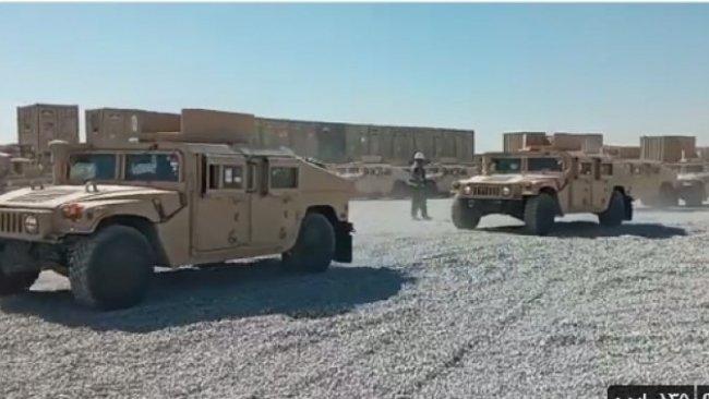 Koalisyondan Peşmerge Güçlerine 50 araçlık askeri yardım