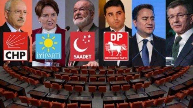 İddia: Altı parti 10 maddede anlaştı
