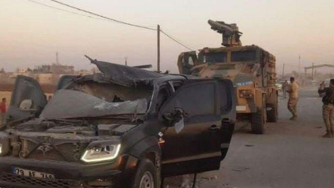 Suriye'de Türk polislerine güdümlü füze ile saldırı!
