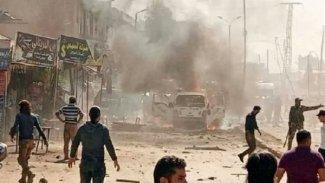 Afrin'de bomba yüklü araçla saldırı:Ölü ve yaralılar var